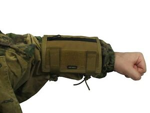 Pouch-Case-map-arm-tablet-molle-tactical-PAINTBALL-airsoft-coyote-brown-Waterpro