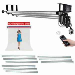 3 Roller Motorized Electric Background Backdrop Support System + 3X 3M Cross Bar 6949987441021