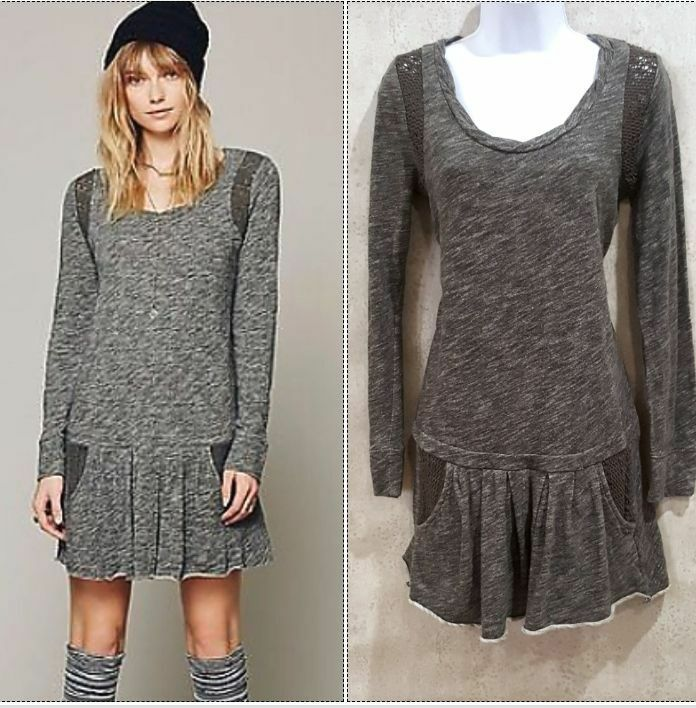 d3f04ca817 People Sweet Nothing dress FP beach sweatshirt dress size S Free ...