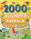 2000 Stickers Animals: 36 Wild and Wacky Activities! by Ben Hubbard (Paperback, 2016)