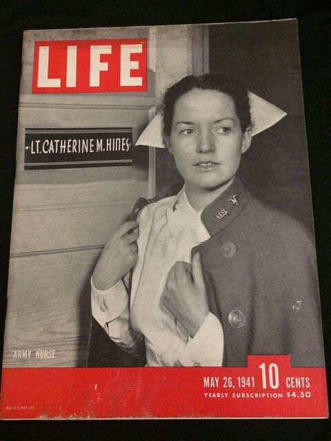 LIFE May 26, 1941 VG Condition