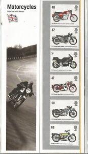 Détails sur GB Presentation Pack Motos 2005 PK nº 373 19.7.05