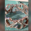 thumbnail 2 - Tiffany & Co Picasso Loving Hearts Band Ring Vintage, Rare, Sterling Silver Sz 7