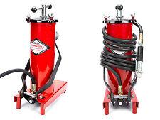 Fahrbare Fettpresse mit Fußpedal Hochdruck 3 Liter PROFI , Schlauchlänge: 4,0 M