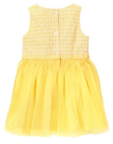 NWT Gymboree Family Brunch Yellow Dress Toddler Girls Easter Wedding