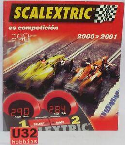 Earnest Scalextric Tecnitoys Katalog Slot Auto-jahr 2000/2001 Neu 28 Seiten Numerous In Variety Elektrisches Spielzeug