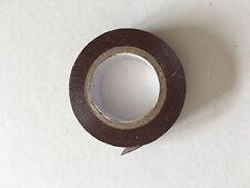 1 Rouleau de Scotch Isolant Electrique 10 mètres 15 mm couleur marron neuf