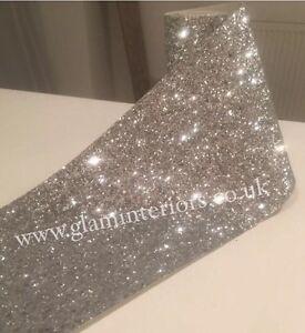 Image Is Loading 6 034 Grade 3 Silver Glitter Wall Border