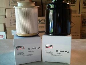 dodge ram 6 7 diesel fuel filter kit 2013 2019 ebayimage is loading dodge ram 6 7 diesel fuel filter kit