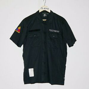 Fingercross-FGXX-Militray-BDU-Half-Sleeve-Work-Shirt-XL-USED