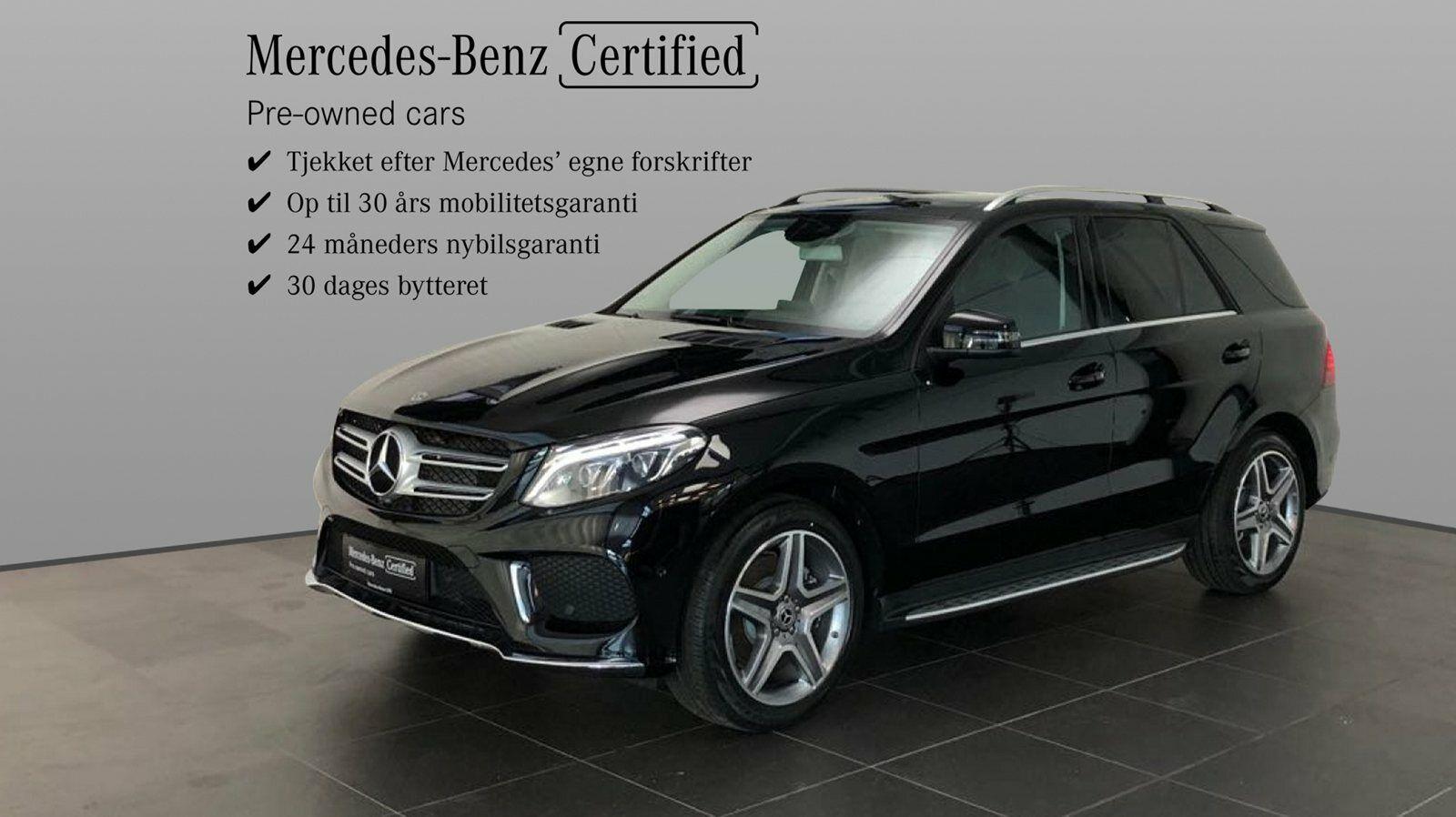 Mercedes GLE350 d 3,0 aut. 4-M 5d - 969.900 kr.