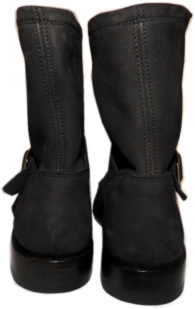 Frye Short NEW Natalie Short Frye Engineer Nero Stivali Donna Riding Booties Shoe 7.5 fdb077