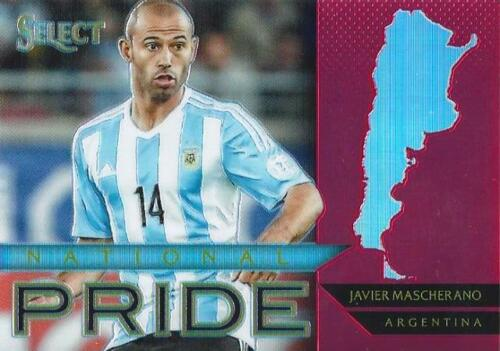 2015 Panini Select Soccer /'National Pride/' Red Parallel Serial Numbered //199