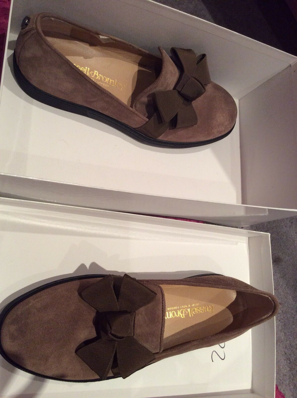 russell et bromley - - 37 - - 4 - prr - Marron  - glisse ons 9512c6