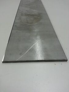 """10/"""" Length 1/"""" x 2/"""" Stainless Steel Flat Bar Mill Stock 304 Plate 1.0/"""""""