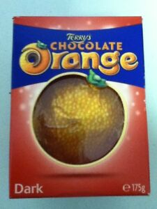 Details About Terrys Chocolate Orange Milk White Exploding Candy British Chocolate