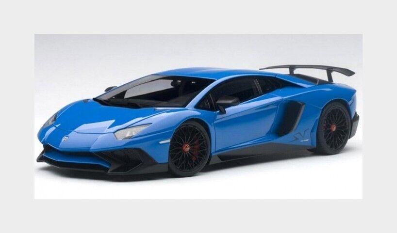 Lamborghini Aventador Lp750-4Sv Superveloce 2015 bluee AUTOART 1 18 AA74559