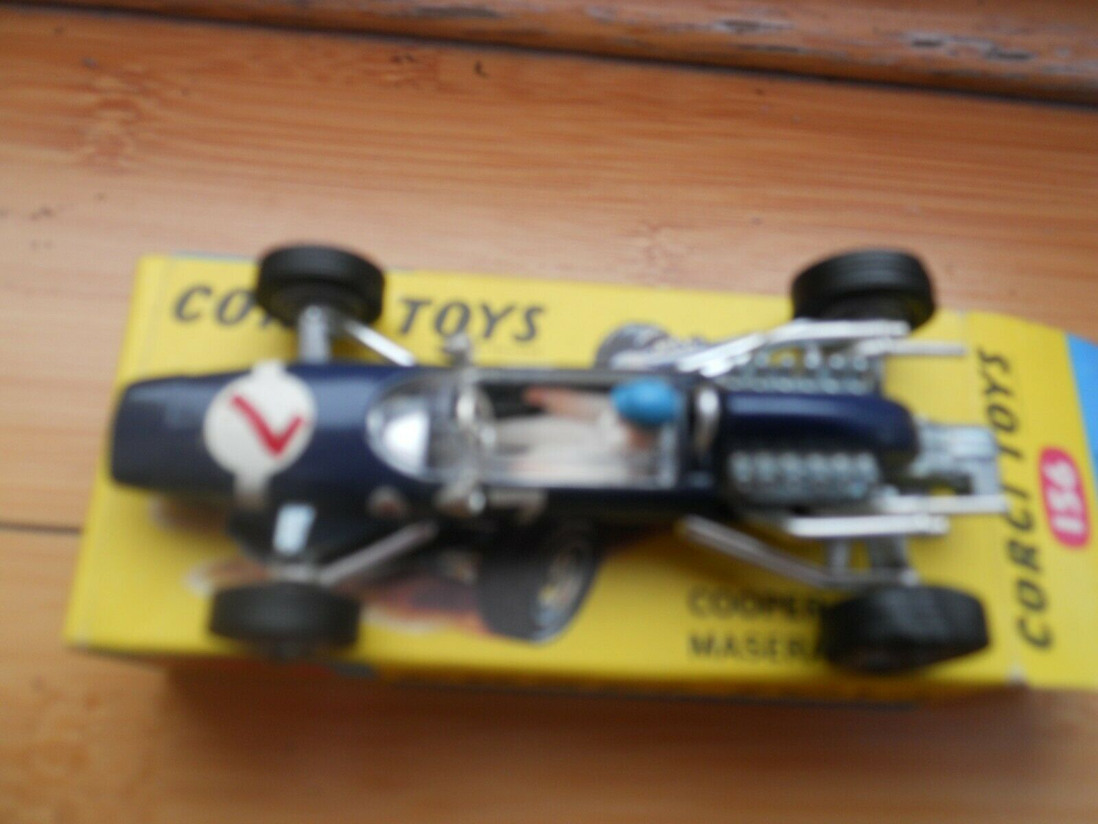 Corgi Toys No. 156 Cooper Cooper Cooper Maserati F 1 Racing Car  In Original Box 7f829a