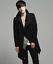 thumbnail 11 - Wool Blend Stand Collar Coat Slim Fit Jacket Men's Mid Length Parkas Asymmetric