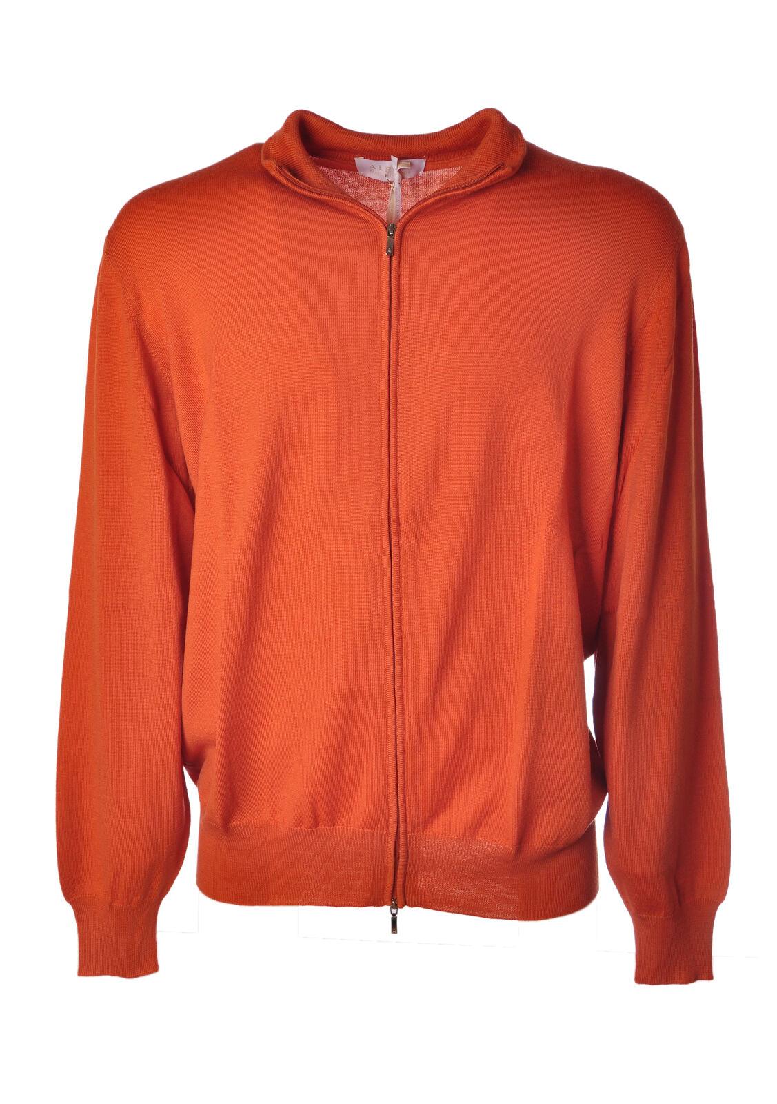 Alpha  -  Sweaters - Male - orange - 4561423A184250