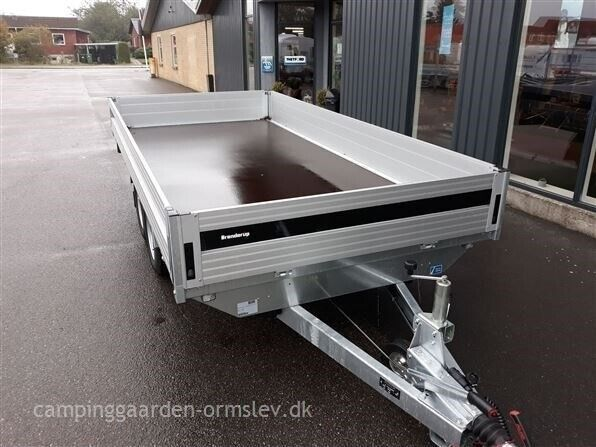 Trailer, Brenderup 2000 KG, lastevne (kg): 1505