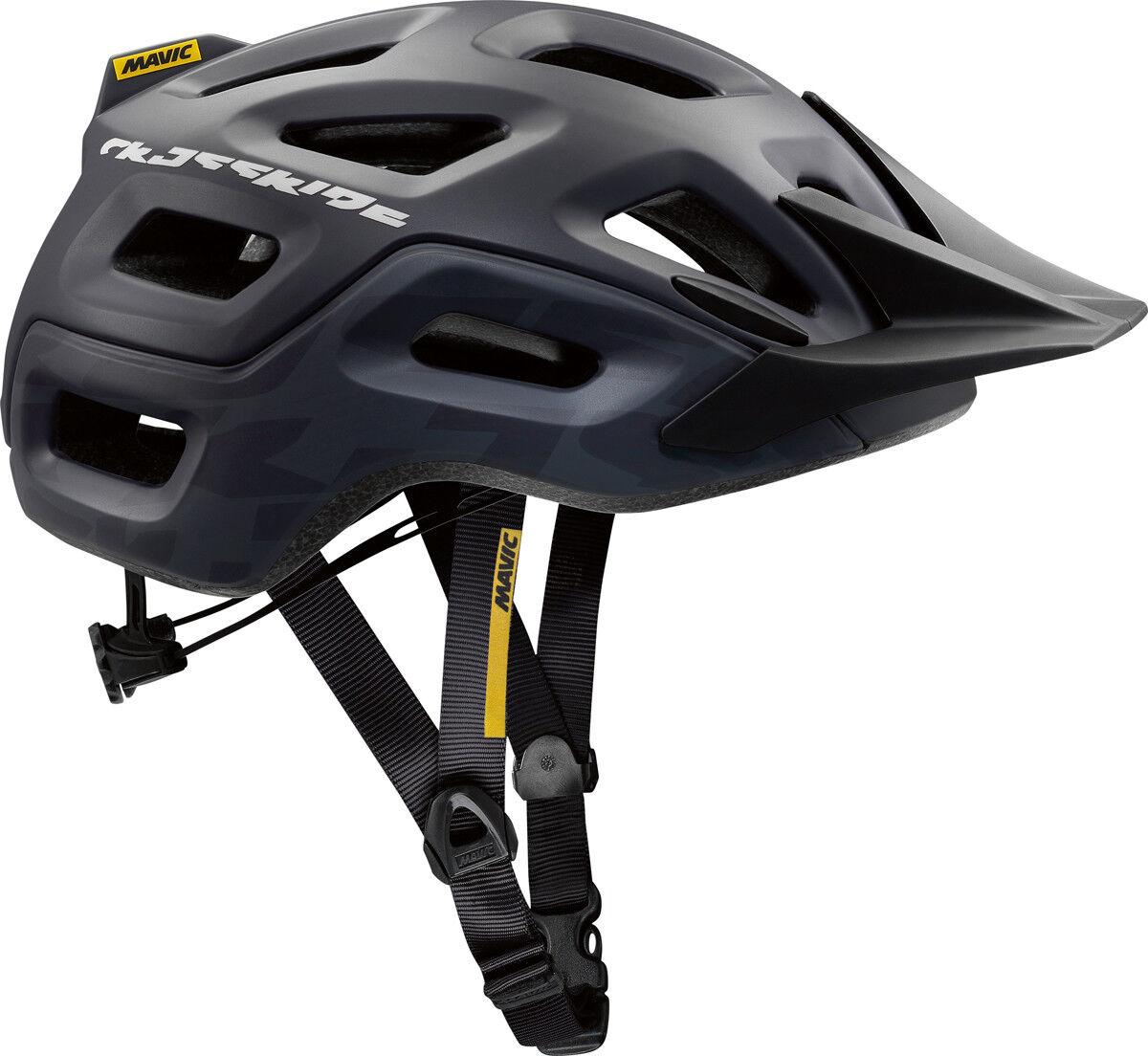 Mavic Crossride MTB Fahrrad Helm black 2018