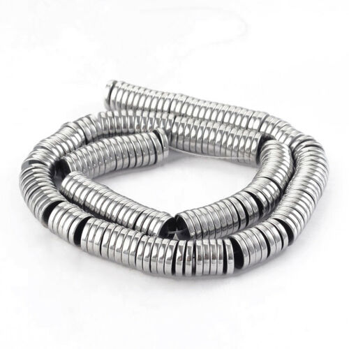 10x1,8mm perlas nenad-Design an447 50 abalorios metálicos hematites spacer discos aprox
