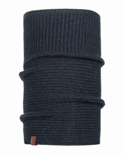 Buff Knitted Comfort Neckwarmer Biorn dark denim