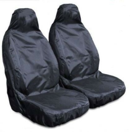 For Ford focus Heavy Duty Black Waterproof Car Seat Covers 2 x Fronts