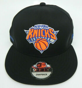 new style 8f2ae a1b12 Image is loading NEW-YORK-KNICKS-NBA-NEW-ERA-9FIFTY-SNAPBACK-