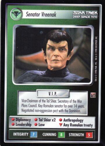 Star Trek CCG   The Dominium  Individual Cards