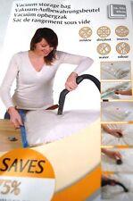 6 × Vakuumbeutel Aufbewahrungsbeutel Vacuum Vakuum Beutel für Kleidung 80x100 cm