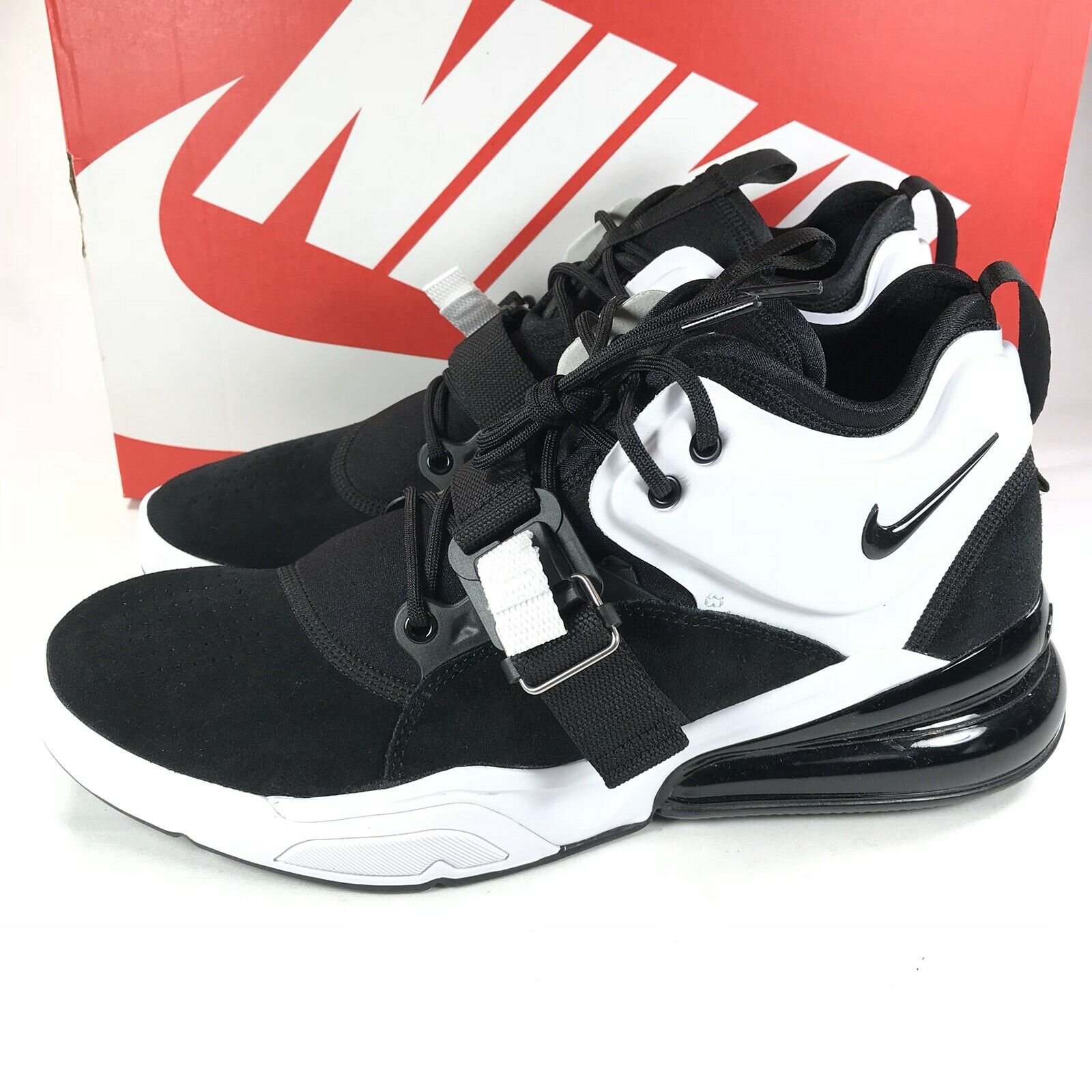 Nike Air Force Max 270 Black White Men's Size 11 New In Box AH6772 006