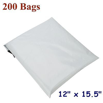 """12x15.5 Poly Mailers Plastic Shipping Mailing Bags Envelopes Polymailer 12/""""x15/"""""""