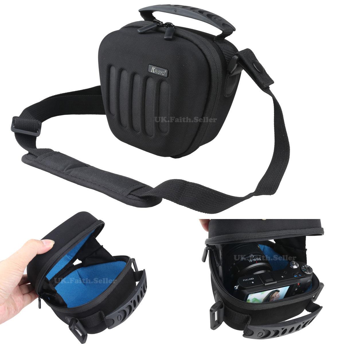 Heavy-duty EVA Hard Shoulder Camera Case Bag 4 SONY Cyber-shot DSC HX400 HX400V