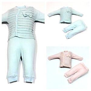 StrampelhoseGr.56 ; 62 ♥ Neu ♥ Babykleidung Oberteil 2-teilig|