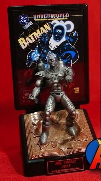 Comic book champions DC Comics series n°2 : Mr FREEZE 1995 limited edition