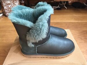f48765cedcf Details about Ladies Green Ugg Boots Size 5