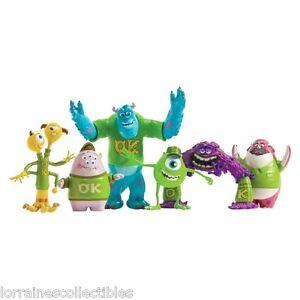 Monsters University Scare Oozma Kappa Students Figures 6 Total New In Box Ebay