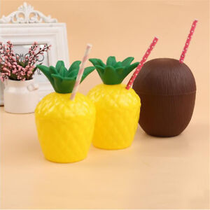 1pc-Coconut-Pineapple-Shape-Drink-Cup-Kid-Bath-Toy-Summer-Party-Decorations-PB