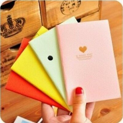 FD1027 Student Diary Note Book Peach Korea Stationery Memo Notepad Random 1pc:)