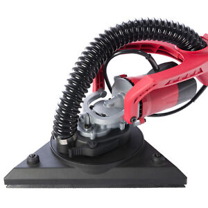 Arebos Ponceuse à bras Ponceuse girafe 750 W 225 mm double pad