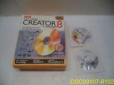 roxio easy media creator 8 suite ebay rh ebay com Roxio Creator 2009 Roxio Creator 2017