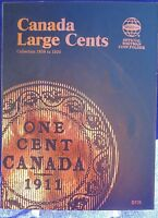 Whitman Canada Large Cents Collection 1858-1920 Coin Folder, Album/book 2478