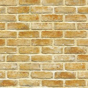 Contact Paper Brick Natural Bakery Self Adhesive Wallpaper Home