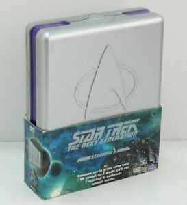 STAR-TREK-THE-NEX-GENERATION-Stagione-5-Completa-n-7-DVD-Cofanetto-Box