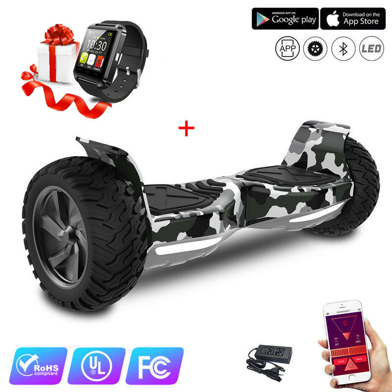 Evercross 8,5 Zoll APP Blautooth-Uhr Hoverboard Mit Blautooth-Uhr APP Balance Scooter E-Scooter 6ccc7a