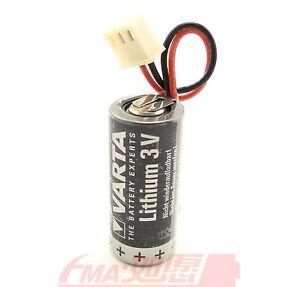 A-VARTA-Battery-3V-CR-2-3AA-CR14335-w-Plug-For-CNC-PLC-Backup-Power-Supply
