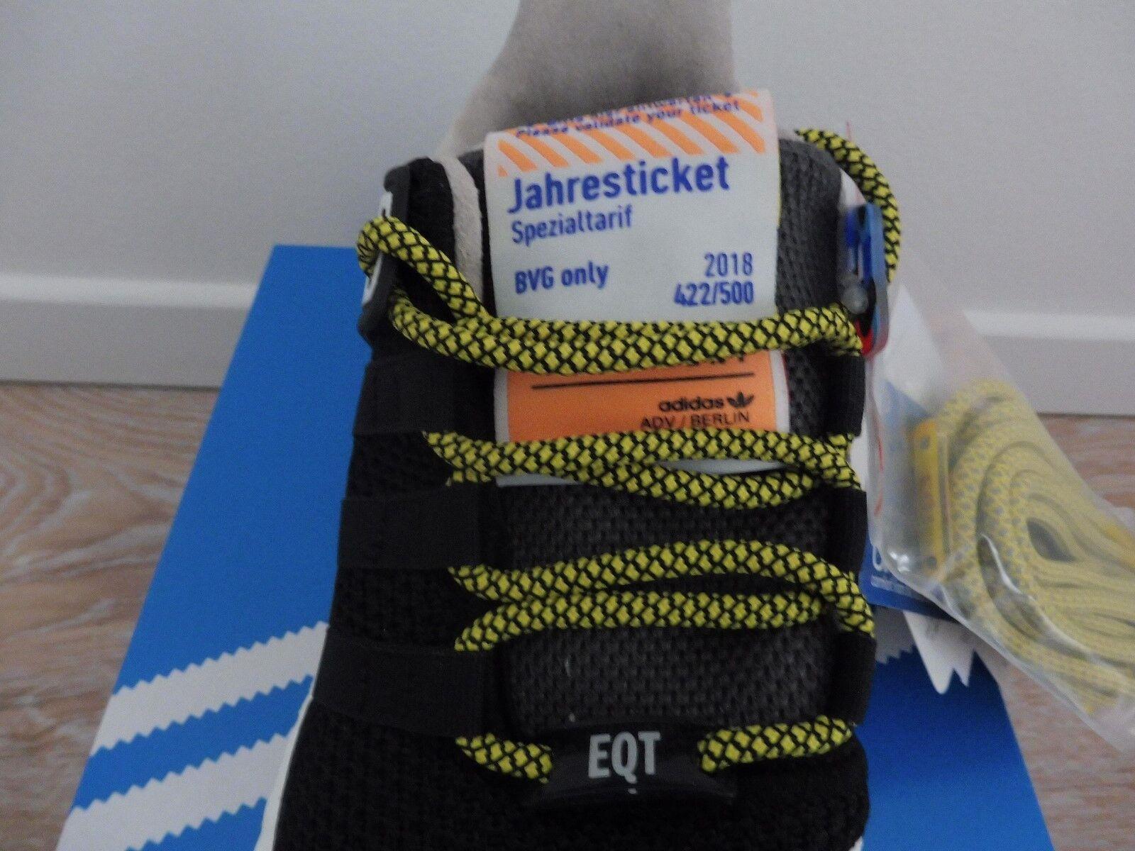 Adidas EQT Support 93 Berlin / / Berlin BVG Limited Edition 422/500 NEU/OVP EU42 b940d9