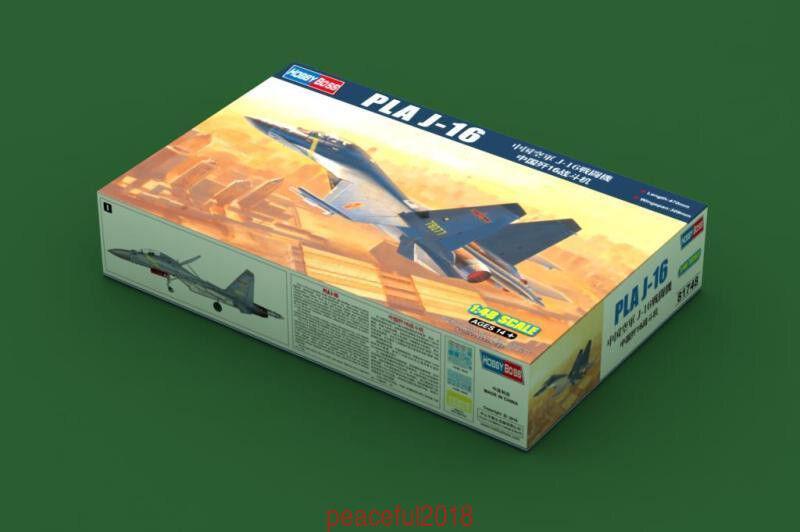 Plastic Model Building Set # 81748 Hobby Boss 1//48 Scale PLA J-16
